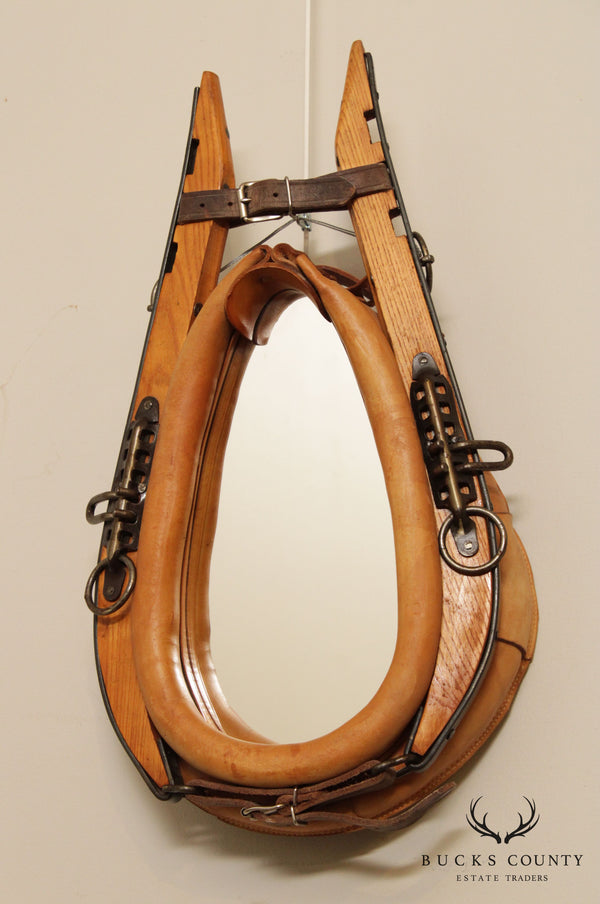 Quality Horse Collar Wall Mirror