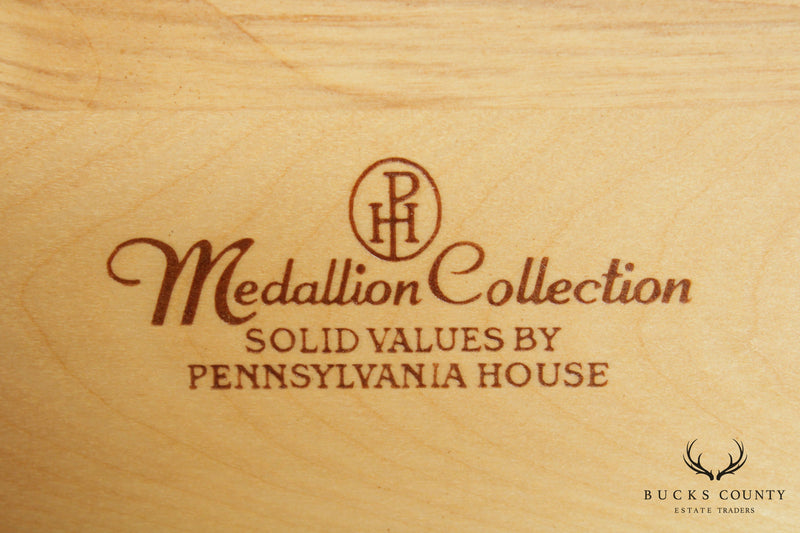Pennsylvania House Medallion Collection Cherry Armoire Cabinet
