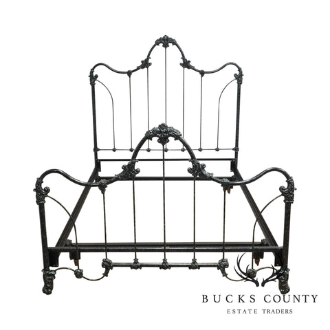 Elliot's Design Inc. Vintage Victorian Style Iron Full Bed