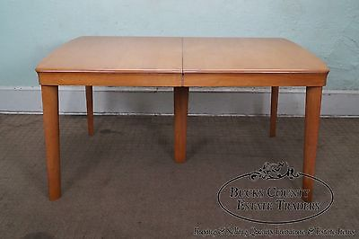 Heywood Wakefield Champagne Finish Mid Century Modern Dining Table