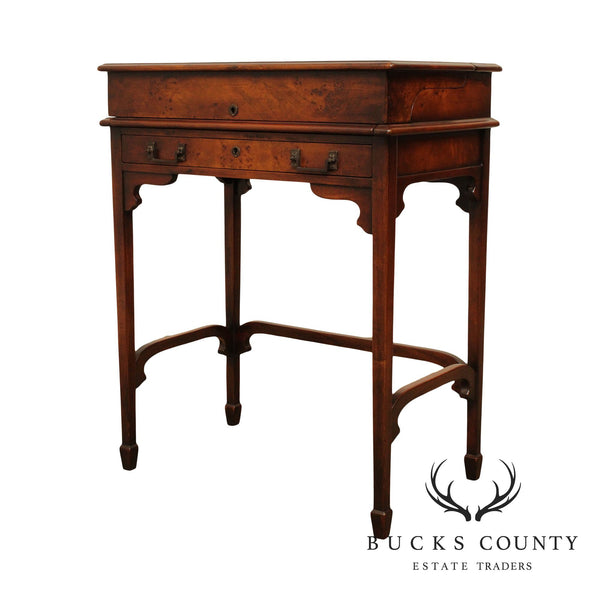Theodore Alexander Burl Wood Officers and Gentleman Campaign Desk