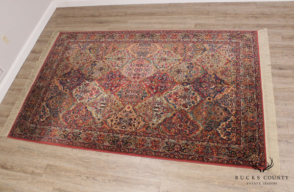 Karastan 5'9 x 9' Multicolor Panel Kirman Rug # 717