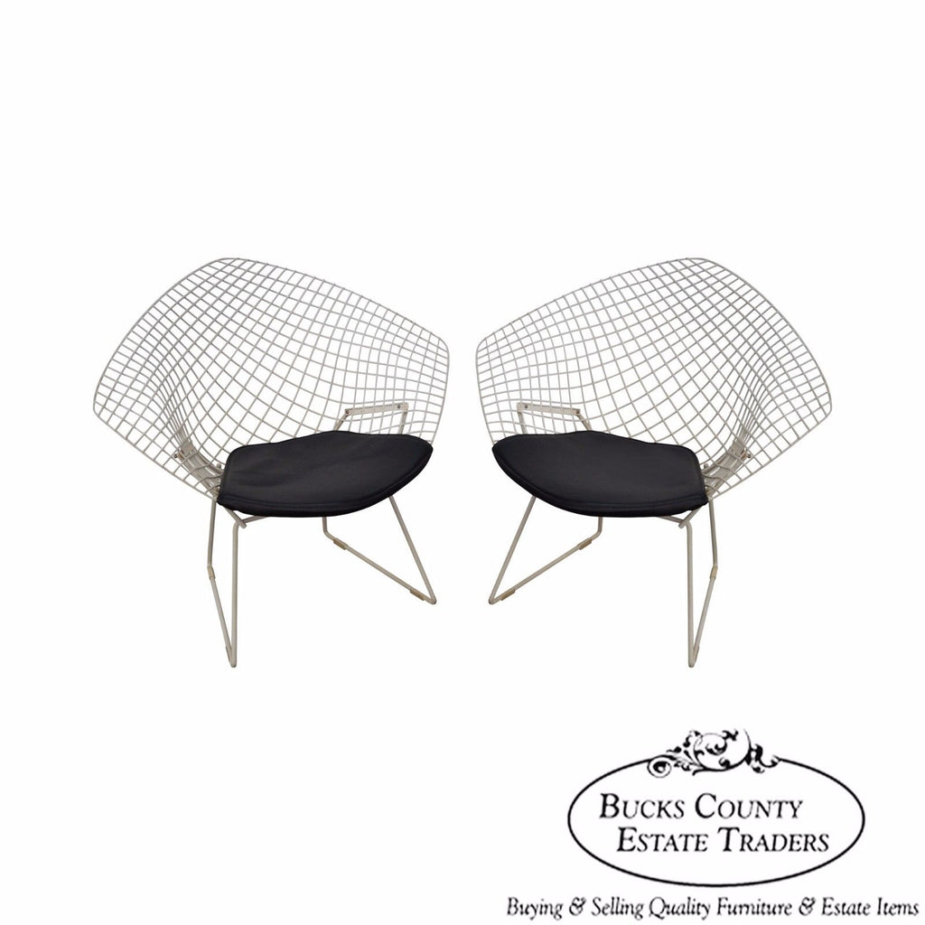 Amazing Harry Bertoia For Knoll Vintage Pair Of Diamond Lounge Alphanode Cool Chair Designs And Ideas Alphanodeonline
