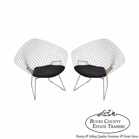 Harry Bertoia for Knoll Vintage Pair of Diamond Lounge Chairs