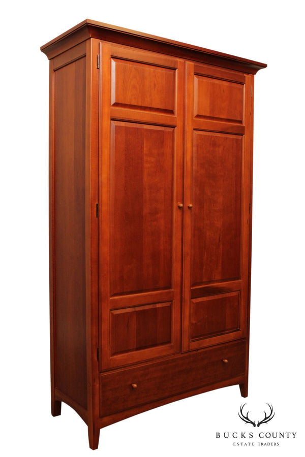 Thomasville 'Impressions' Cherry Bedroom Armoire Cabinet (A)
