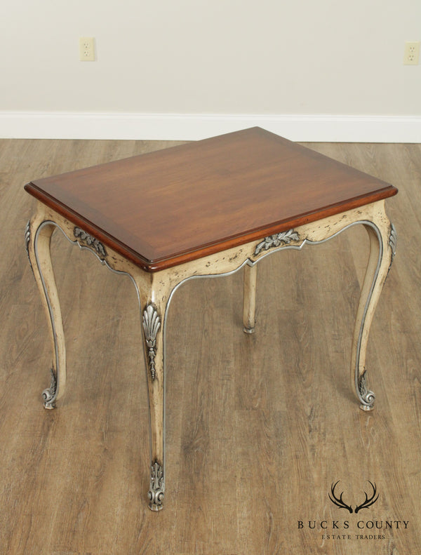 French Louis XV Style Custom Quality Vintage Side Table
