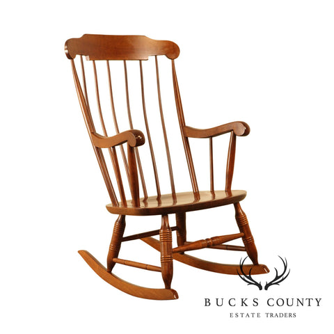 Nichols & Stone Traditional Maple Windsor Rocker