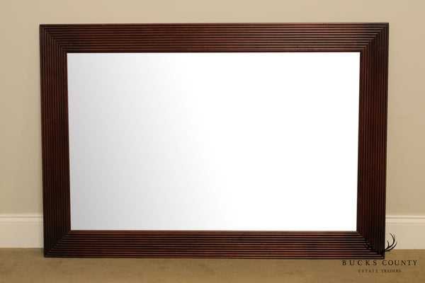 Ethan Allen British Classics Rectangular Beveled Wall Mirror