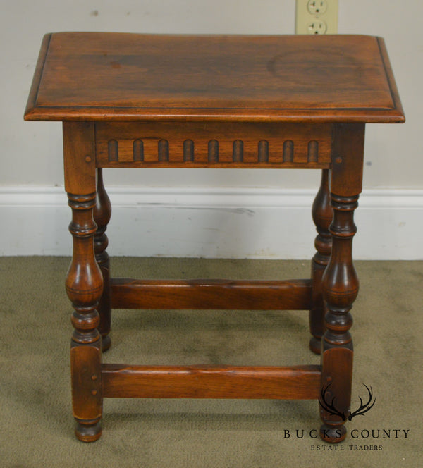 Antique Small Walnut Table