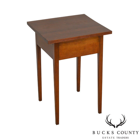Antique 19th Century Country Cherry Side Table