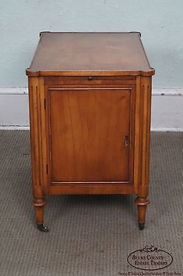 Old Colony Regency Directoire Style Small Bar Liquor Cabinet