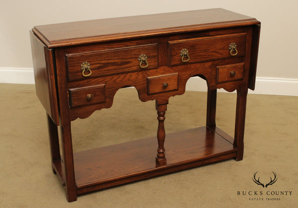 Conant Ball Vintage Oak Jacobean Style Server
