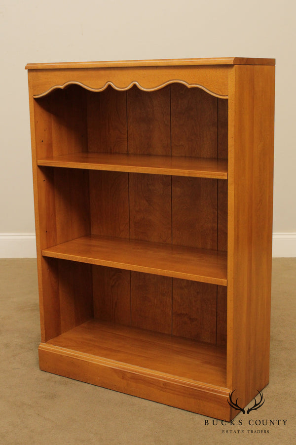 Ethan Allen Country French Open Bookcase