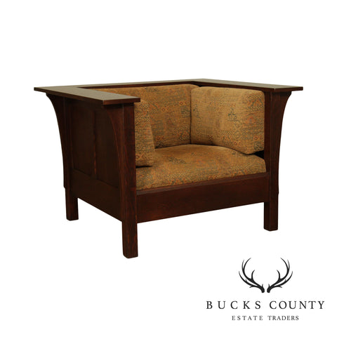 Stickley Mission Collection Oak Prairie Chair