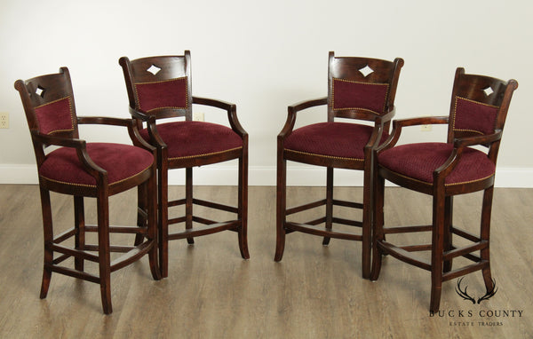 French Country Style Set 4 Quality Bar Stools