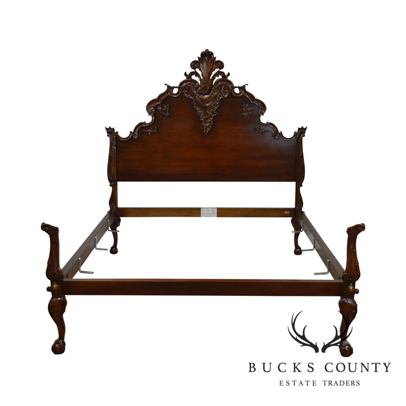 Polo Ralph Lauren Louis XV Rococo Queen Cherry Bed