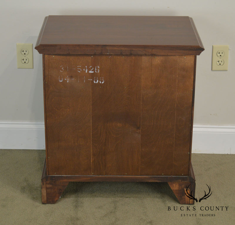 Knob Creek Solid Cherry Pair Nightstands