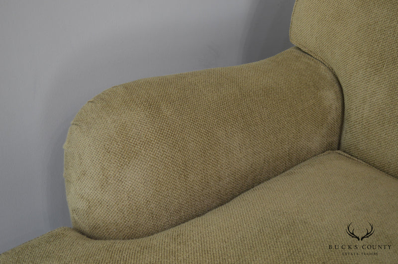 Ralph Lauren Large Tan Upholstered Sofa