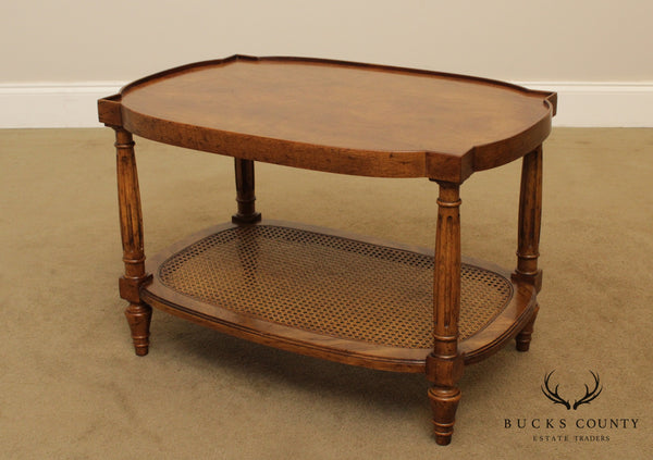 Heritage Vintage French Louis XVI Style Walnut Side Table