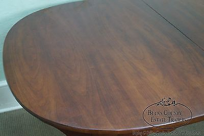 Solid Cherry Queen Anne Style Dining Table by Colony Hall