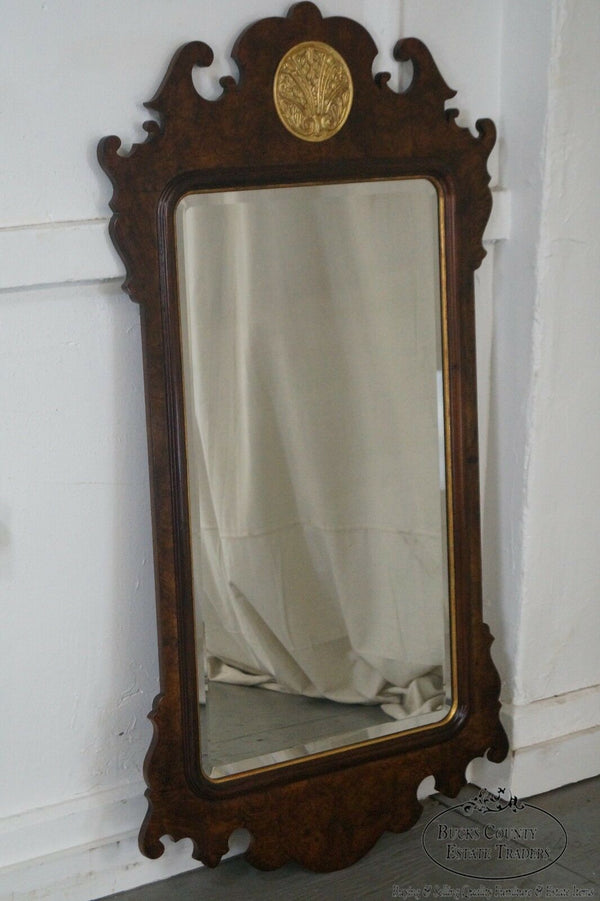 Henredon Chippendale Style Beveled Wall Mirror