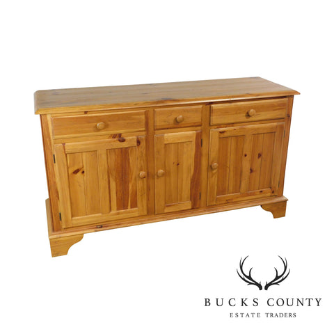 Ethan Allen Farmhouse Pine Sideboard Buffet