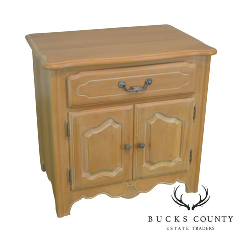 Ethan Allen French Country Maple Nightstand