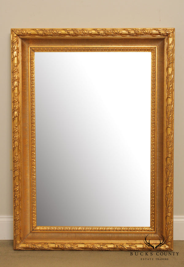 La Barge Large Gilt Frame Beveled Wall Mirror