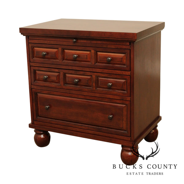 Traditional Cherry Nightstand Chest