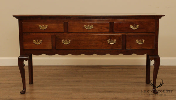 Stickley Queen Anne Style Cherry Sideboard