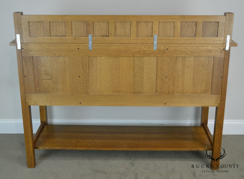 Stickley Mission Collection Oak Sideboard