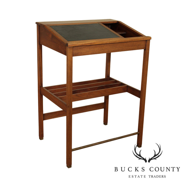 The Stand - Up Desk Co. MJM Woodworking Custom Walnut Architects Desk