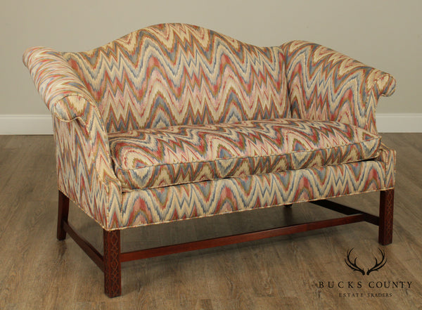 Southwood Chippendale Style Mahogany Loveseat