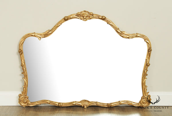 Friedman Brothers French Louis XV Style Gilt Beveled Wall Mirror