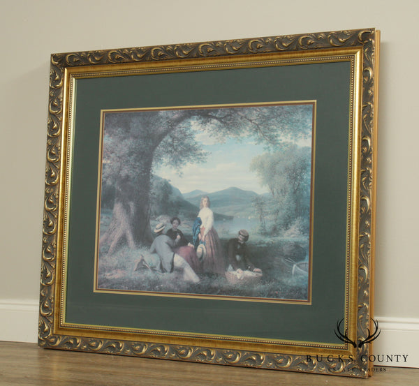 Crown Fine Arts Gold Framed Print