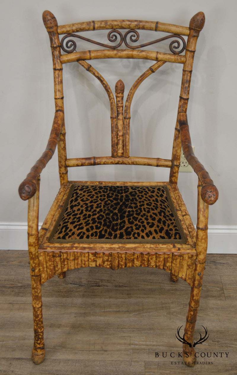 Antique 19th Century English Victorian Armchair