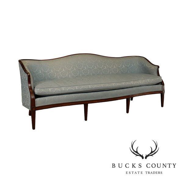 Hickory Chair Federal Style Long Mahogany Sofa