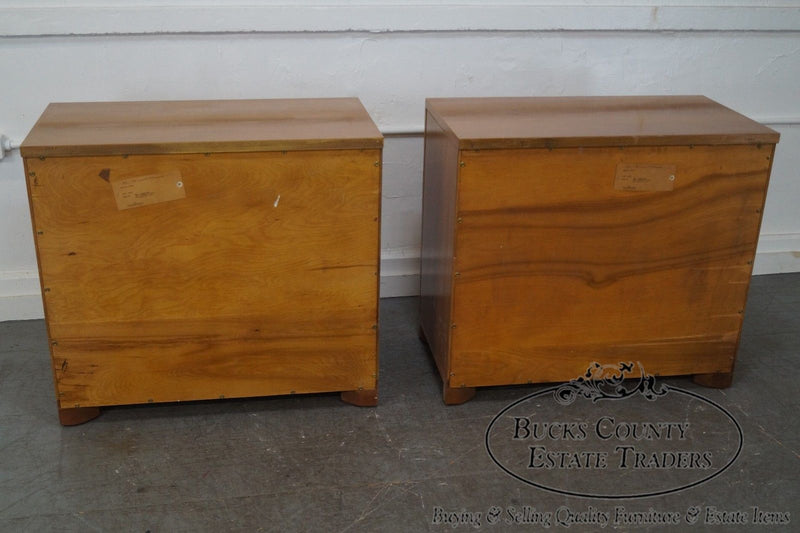 Widdicomb Mid Century Modern Pair of 4 Drawer Chests