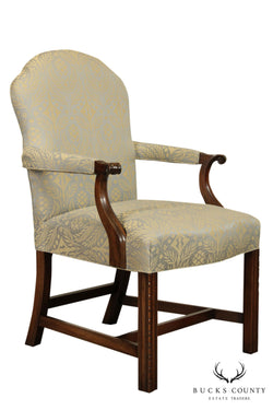 Kittinger Mahogany Chippendale Style Armchair