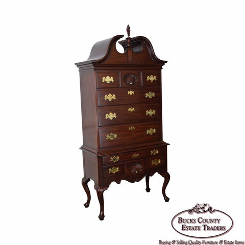 Henkel Harris Mahogany Philadelphia Queen Anne Highboy