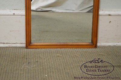 Vintage Fruitwood Regency Style Wall Mirror