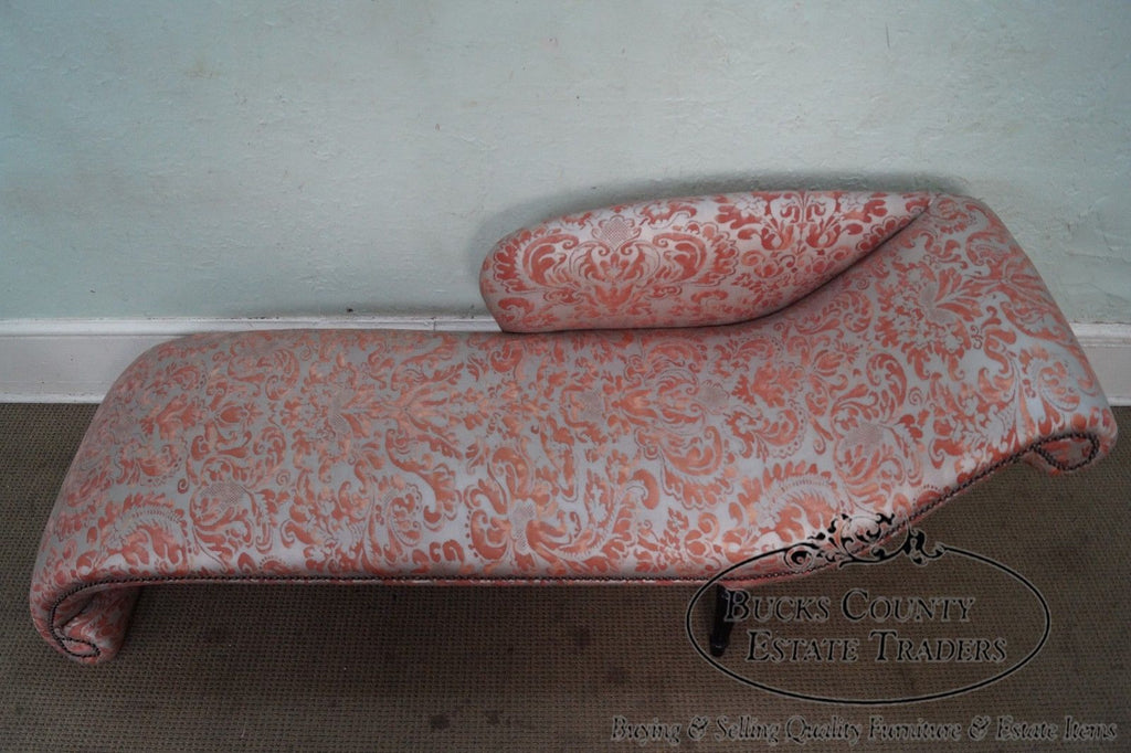 Surprising Unusual Custom Regency Directoire Style Chaise Lounge Theyellowbook Wood Chair Design Ideas Theyellowbookinfo
