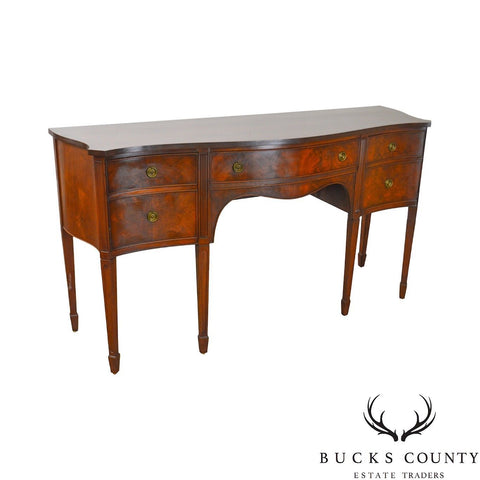 B. Altman & Co. New York Vintage Mahogany Federal Style Sideboard