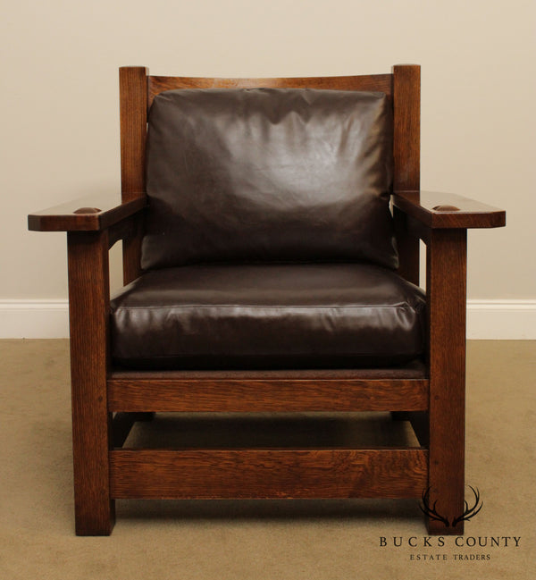 Stickley Mission Collection Oak Eastwood Chair