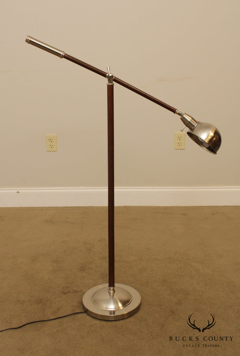 Quality Apothecary Adjustable Floor Lamp