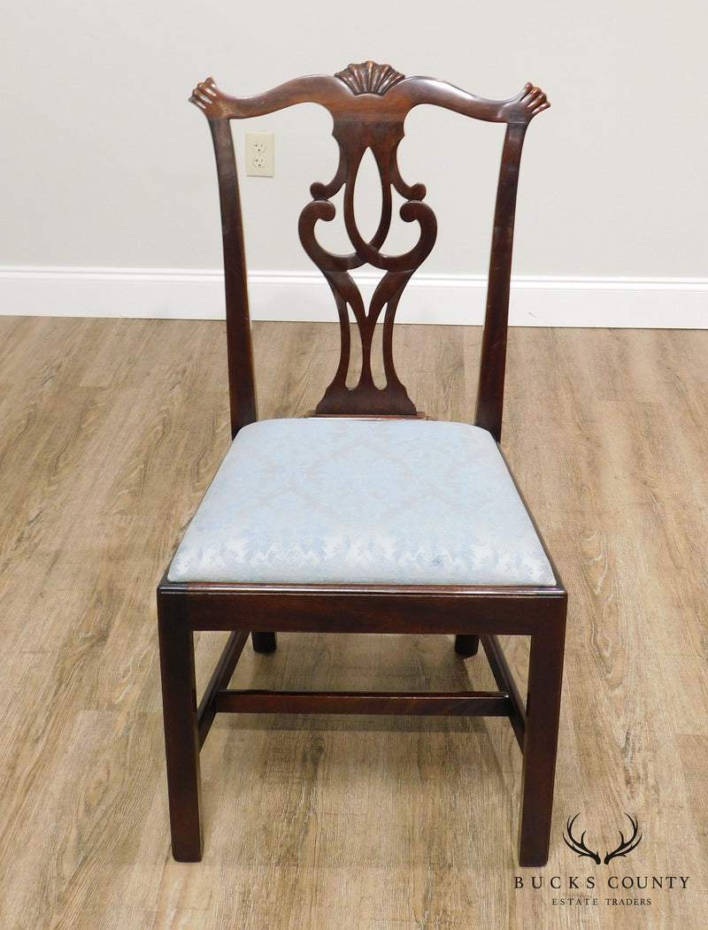 Stickley Chippendale Style Mahogany Dining or Side Chair