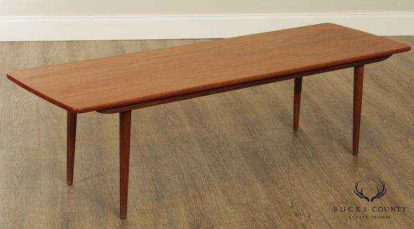 Danish Modern Vintage Teak Coffee Table Mobelfabrik