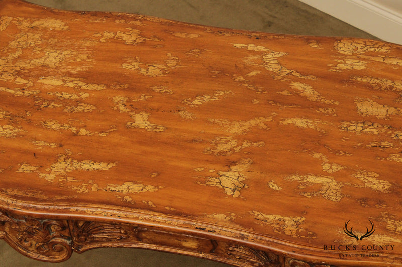 French Rococo Style Quality Carved Writing Desk