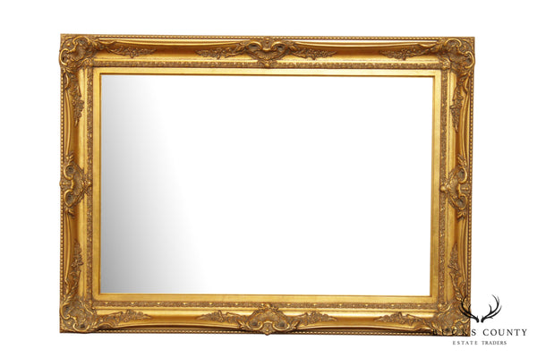 Quality Gilt Frame Beveled Wall Mirror