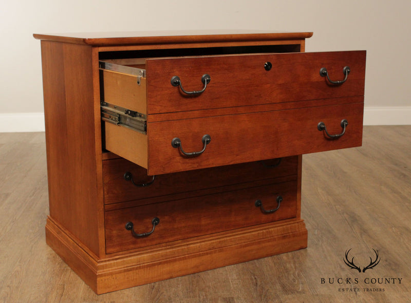 Quality Traditional Cherry 2 Drawer File Cabinet